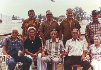 Richard Art Ernie Fritz Max Mary George Arnold Helen Jipp